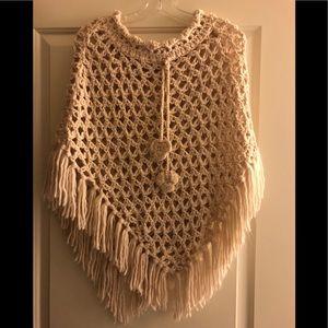 Women's Crochet Ponchos